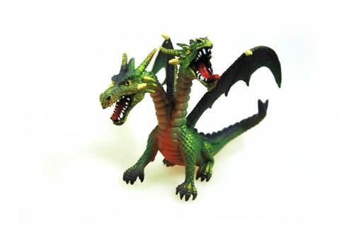 Das geheimnis des zweiköpfigen drachen