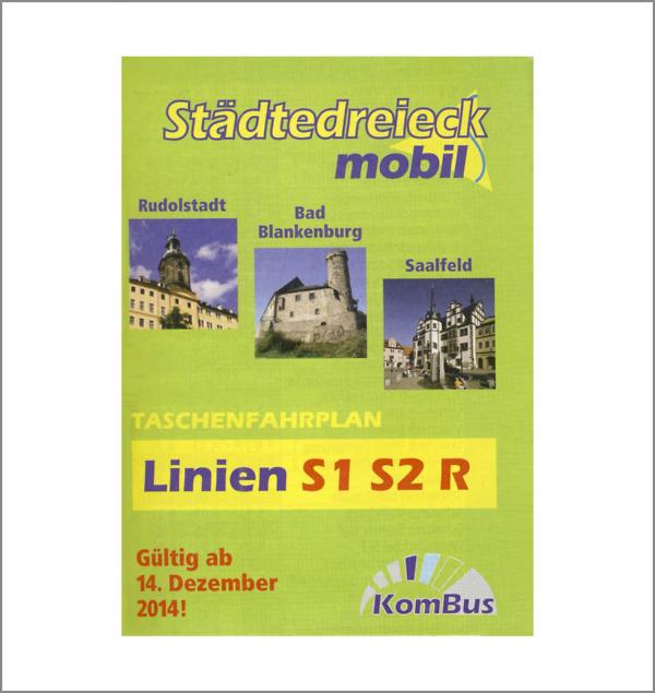 Städtedreieck mobil - S1, S2, R