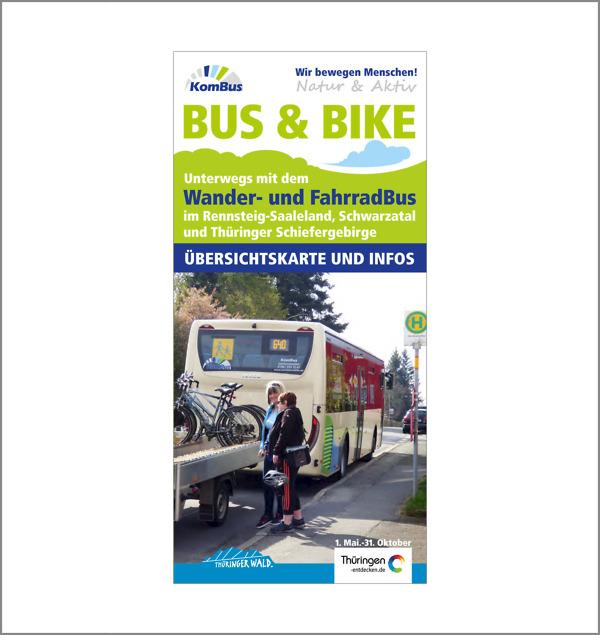 Wander- und Radbus - Übersichtskarte